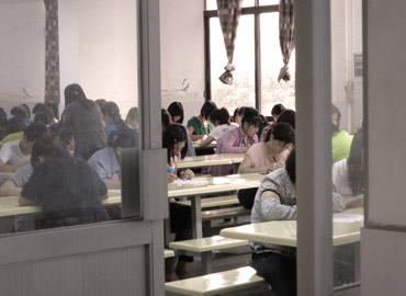 Mitarbeiterbefragung in einer chinesischen Textilfabrik
